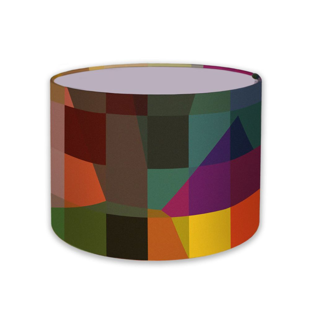 Digital Glitch lampshade by Parris Wakefield Additions
