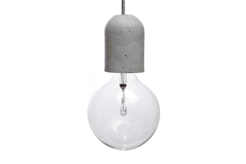 Dolio L Concrete Pendant Light by URBI ET ORBI