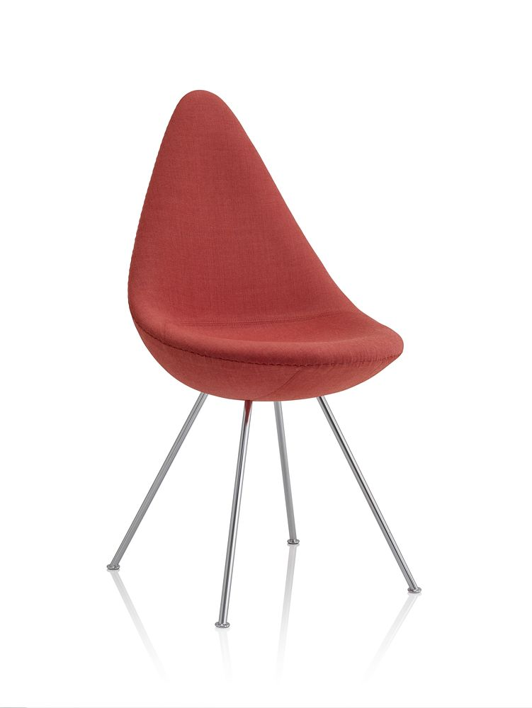 Drop Fully Upholstered Chair by Republic of Fritz Hansen