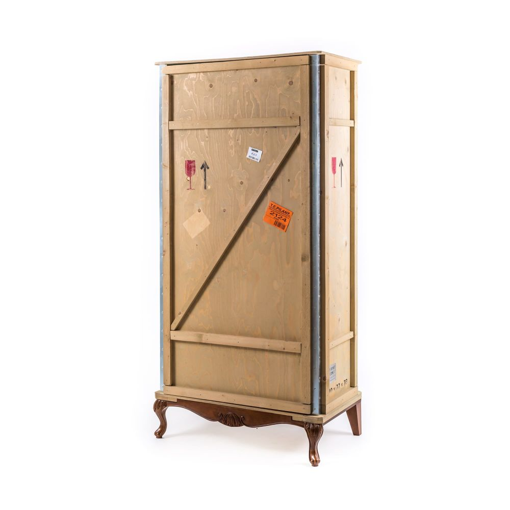 Export Comò Wooden Wardrobe by Seletti