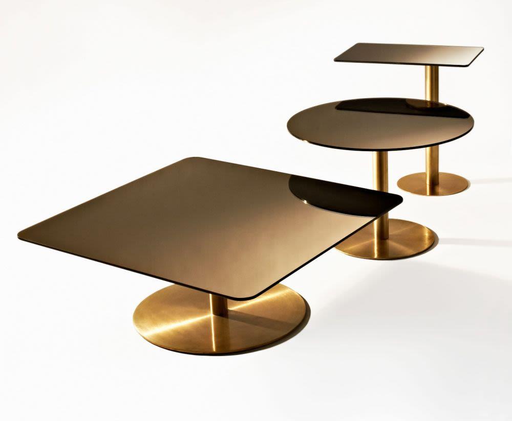 Flash Circular Side Table by Tom Dixon