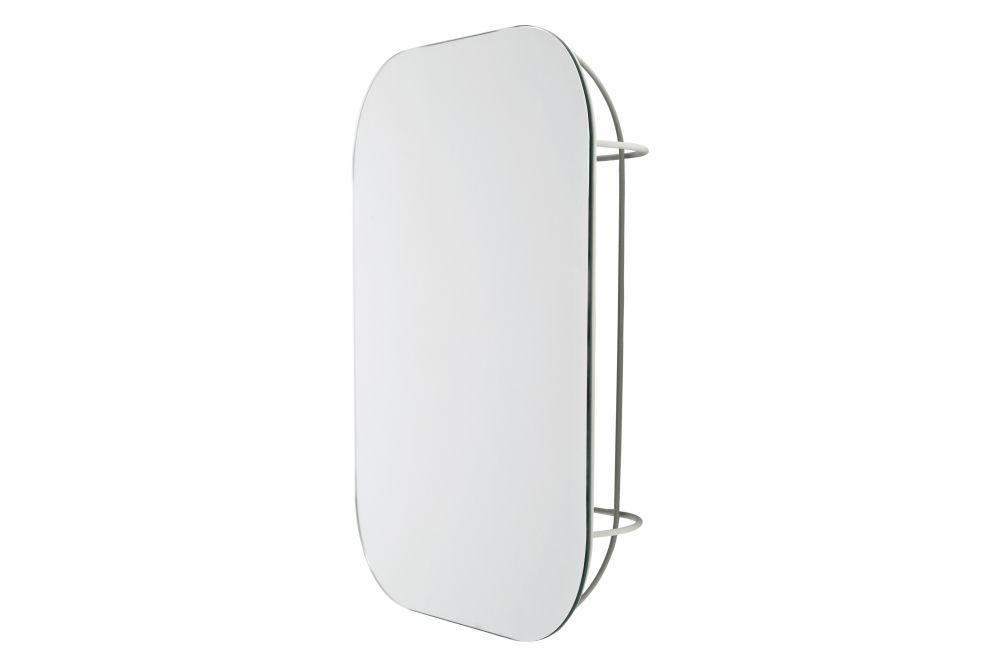Fuwl Cage Wall Mirror by Menu
