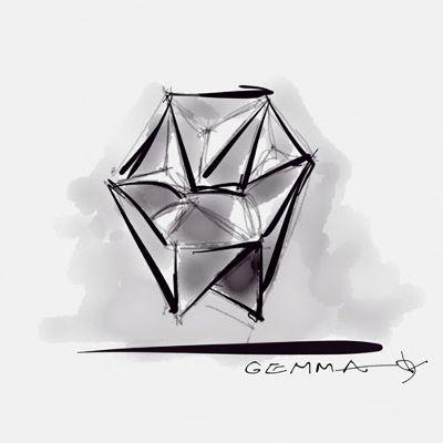 Gemma Armchair by Moroso