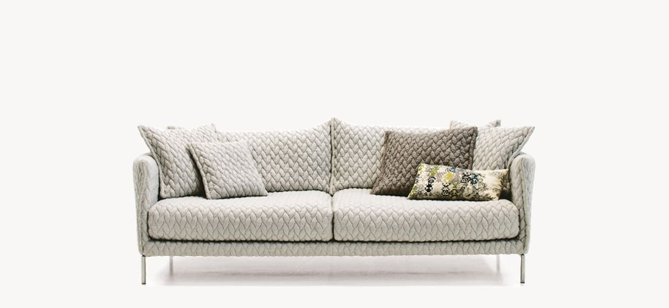 Gentry Extra Light - Sofa by Moroso