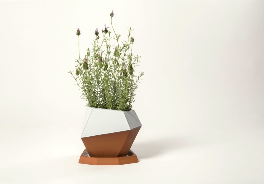 Geometric Large Pot by Nick Fraser