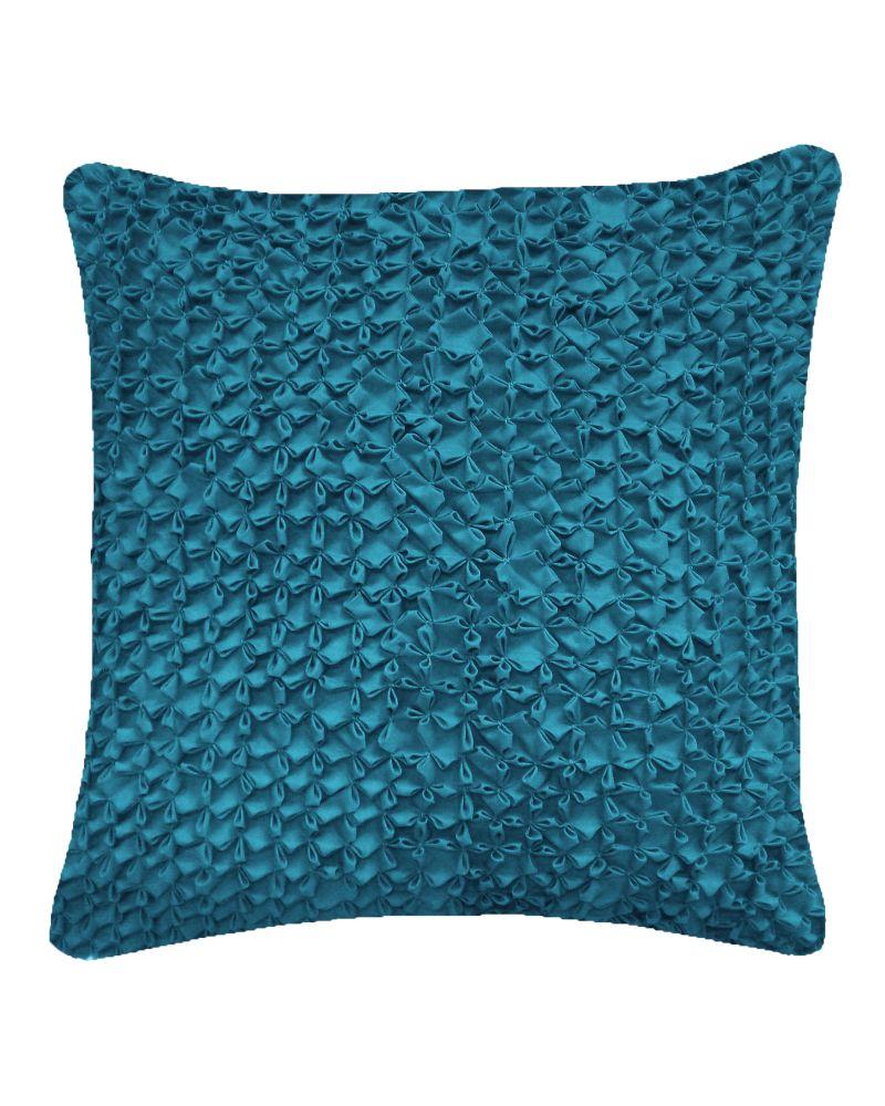 Hand Stitched Flower Cushion  by Nitin Goyal London