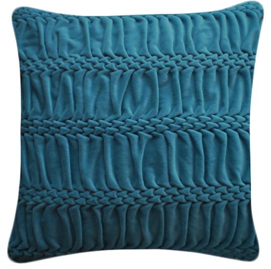 Hand Stitched Striped Wave Signature Cushion by Nitin Goyal London