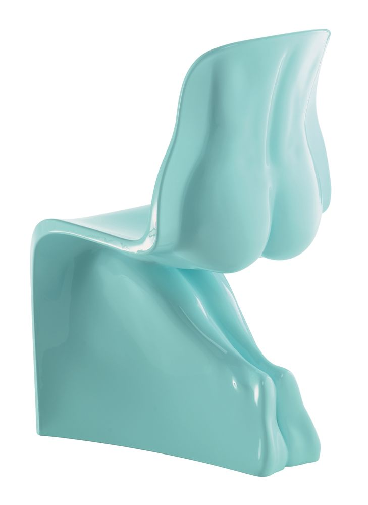Her Hi-Gloss Finish Chair by Casamania