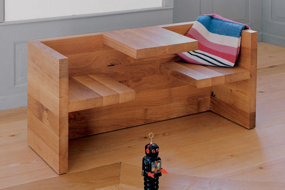 Hp01 Tafel Table Bench Oak Small By E15 Clippings