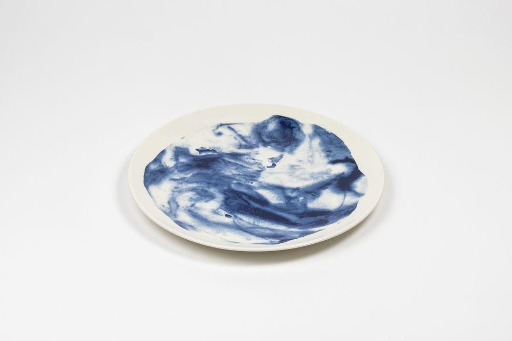 Indigo Storm Dinner Plate  by 1882 Ltd