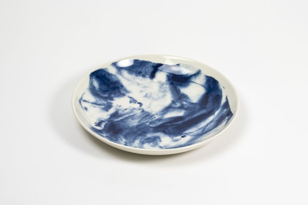Indigo Storm Pasta Bowl  by 1882 Ltd