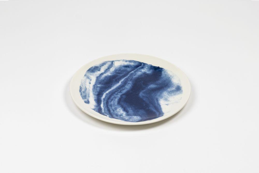 Indigo Storm Salad Plate  by 1882 Ltd