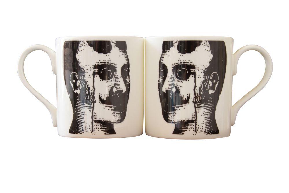 Kit Prussian Head Mug by Peter Ibruegger Studio