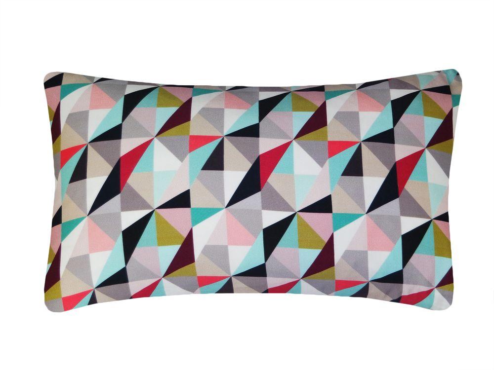 Kite Printed Rectangular Cushion  by Nitin Goyal London