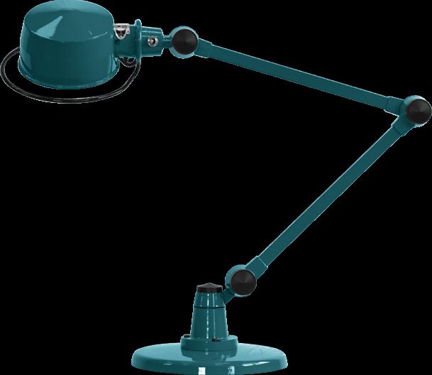 LaK Two Arm Desk Lamp by Jielde