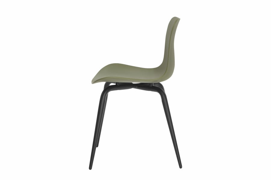 Langue Avantgarde Dining Chair, Black by NORR11