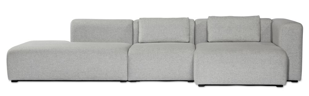 Mags Chaise Lounge Short Modular Element 8261 - Right by Hay