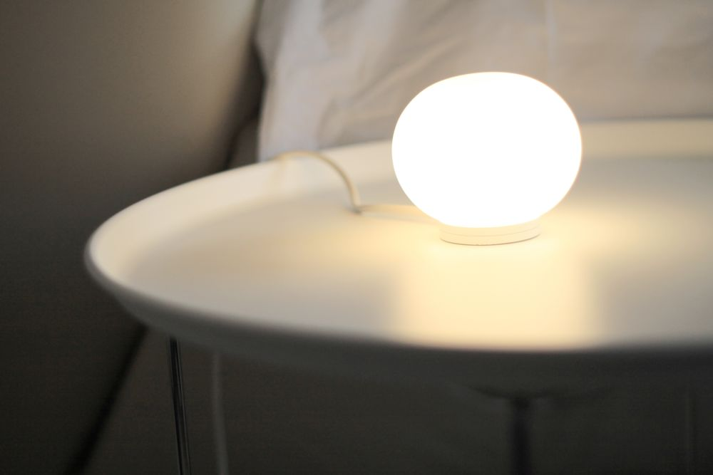 Mini Glo Ball T Table Lamp By Flos Clippings