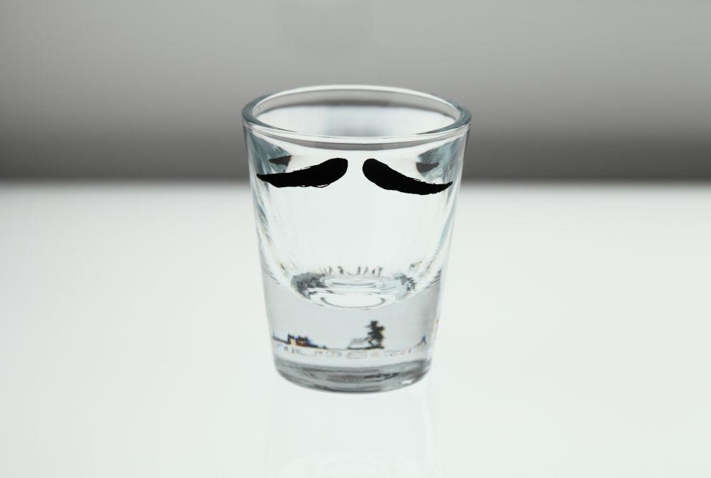 Moustache Shot Glasses by Peter Ibruegger Studio