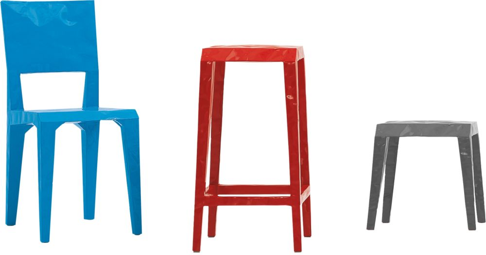 Mr. B Low Stool by Cappellini