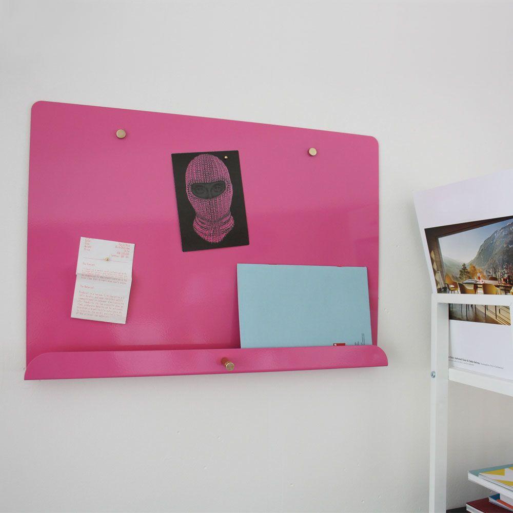 Myosotis Magnetic Notice Board by Psalt Design