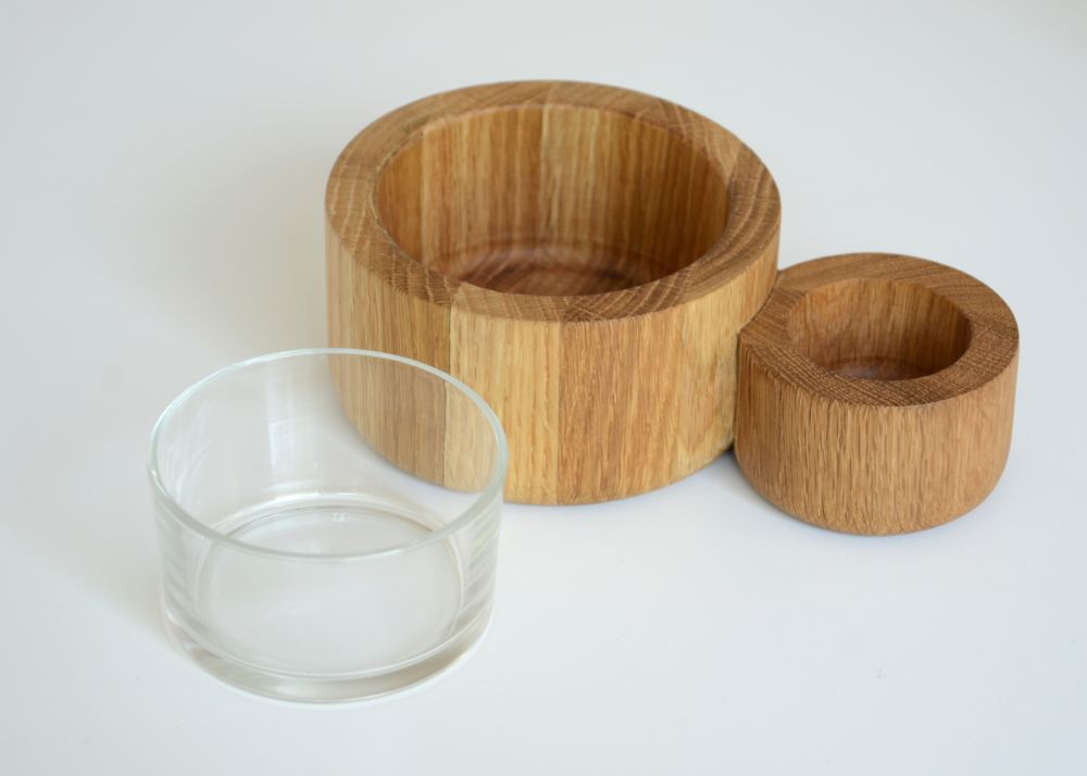 Olive & Pits Bowl by Wireworks
