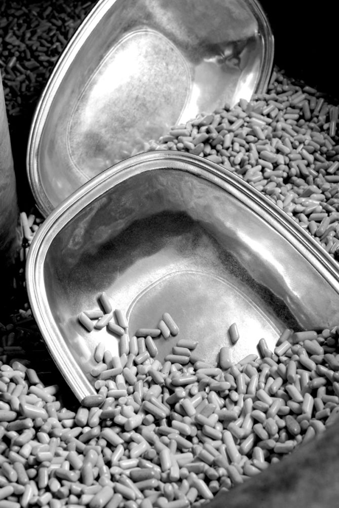 Pewter Sugar Pot by Eligo
