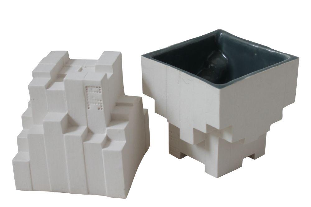 Pixel Tea Cups by Julian F Bond