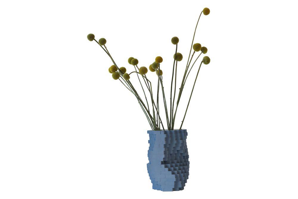 Pixel Vase by Julian F Bond