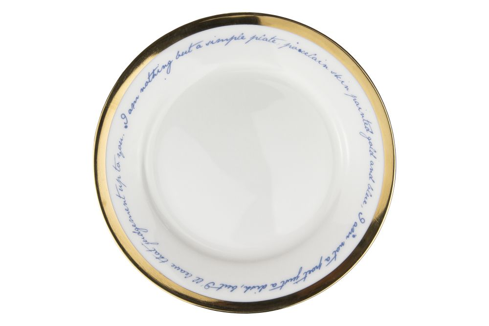 Poetry Plate by Mineheart