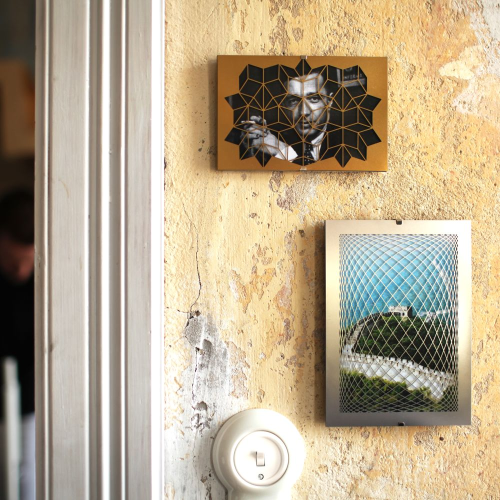 Raute Picture Frame by FUNDAMENTAL.BERLIN
