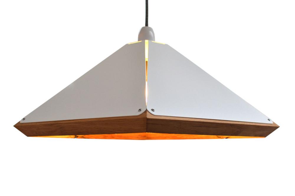 Reclaimed Oak Pendant Light by Jam Furniture