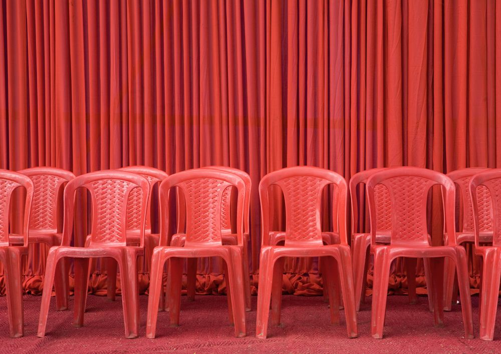 Red Chairs by The Artful Project