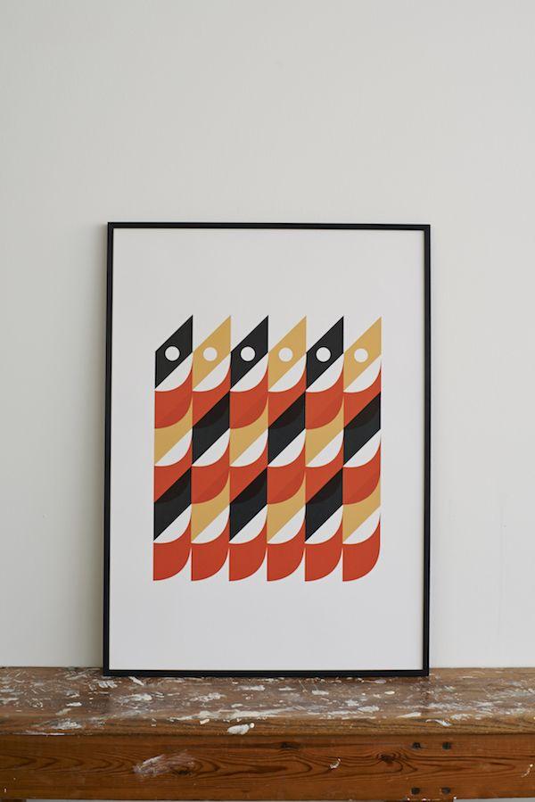 Sardines Screen Print by Lane