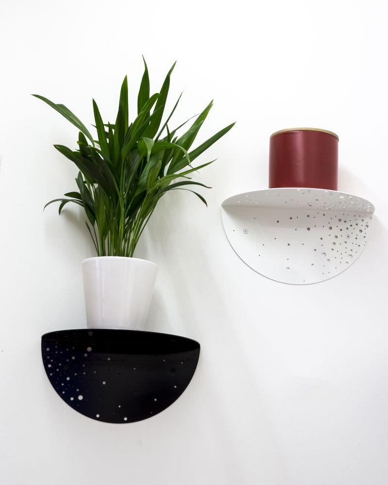 Shell Side Shelf by Matteo Gerbi