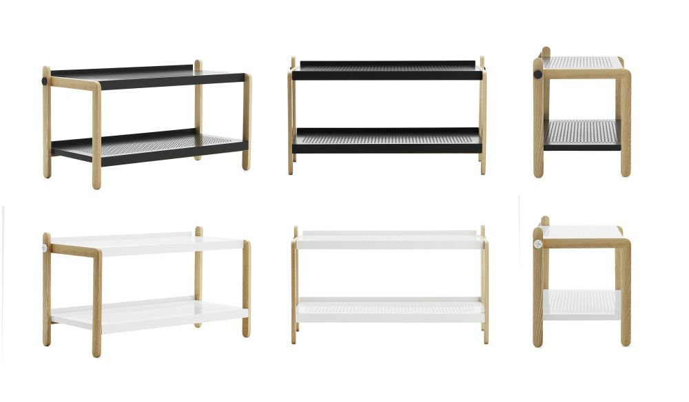 Sko Shoe Rack by Normann Copenhagen