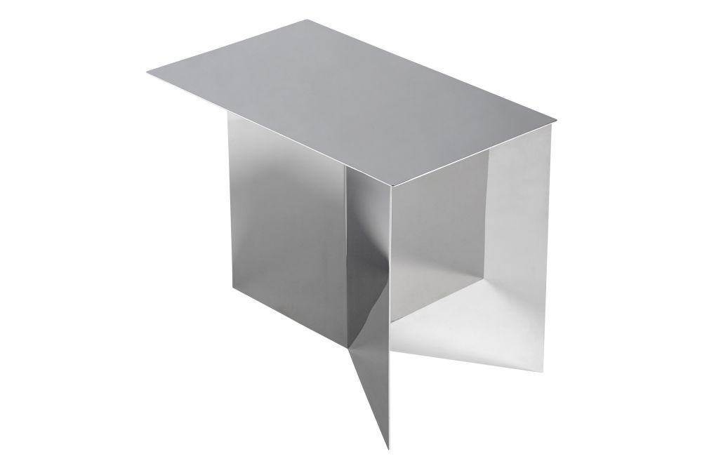 Slit Oblong Side Table by Hay