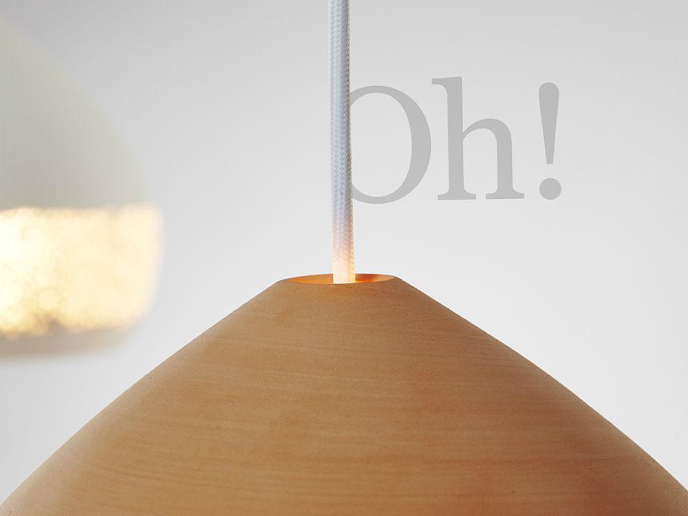 SpongeOh! Pendant Light by P O T T