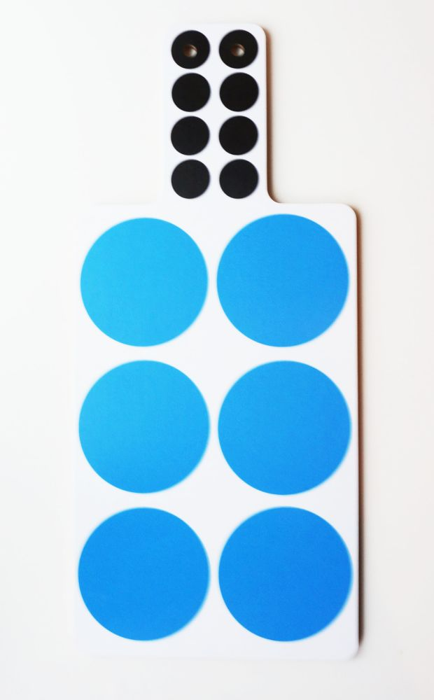 Spots Cutting Board  by Camilla Engdahl