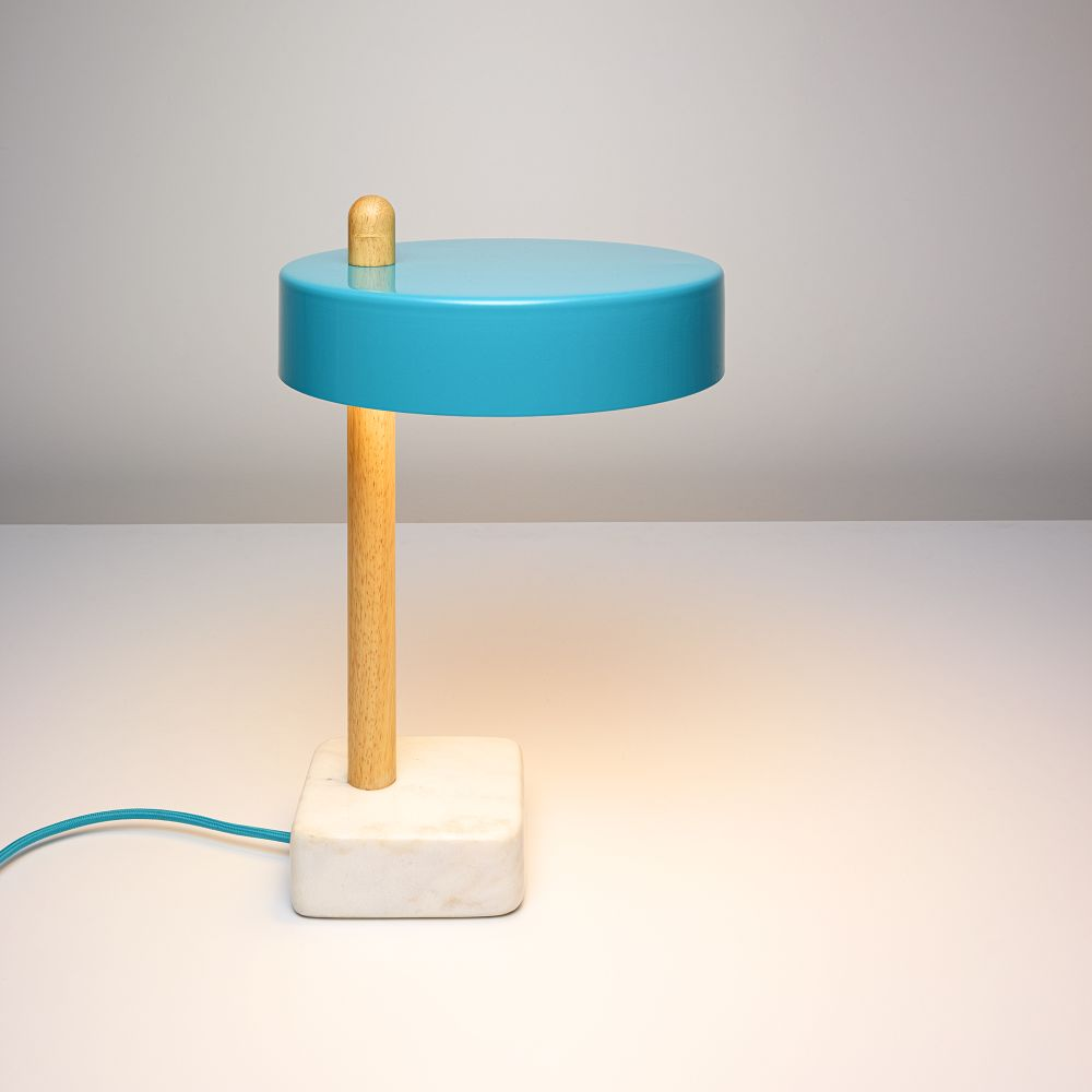 Stick Lamp - Teal by James Stickley