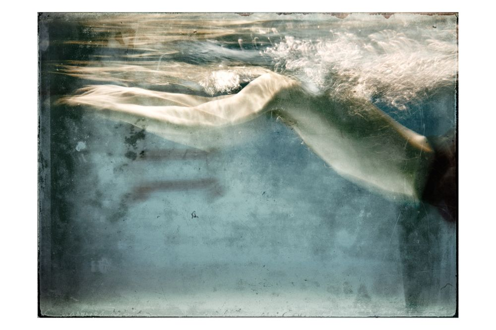 The Swimmer Print by The Artful Project
