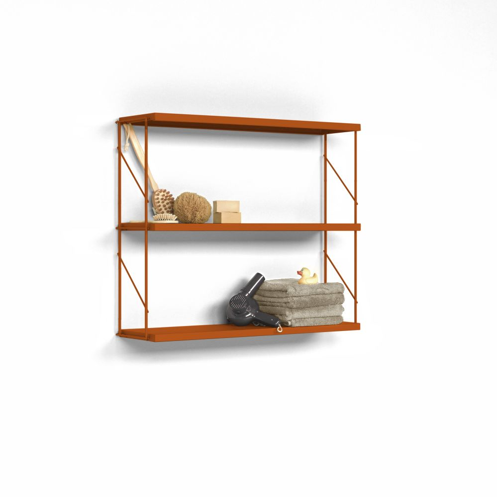 Tria Pack Wall Shelving System by Mobles 114