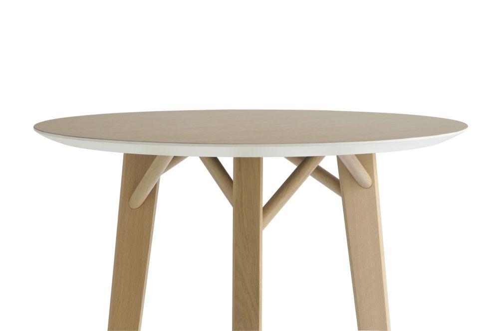 Tria Round Table by Colé Italian Design Label