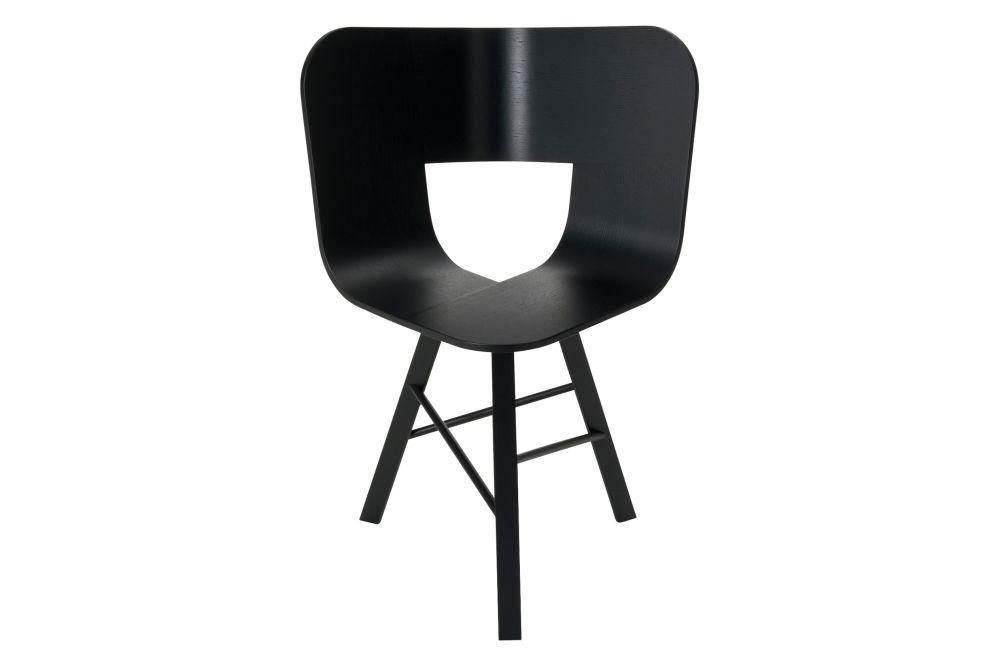 Tria Three Legged Dining Chair by Colé Italian Design Label