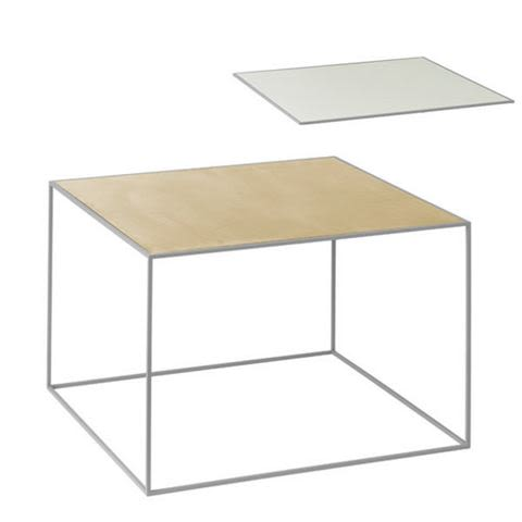 Twin Table - Rectangular by by Lassen