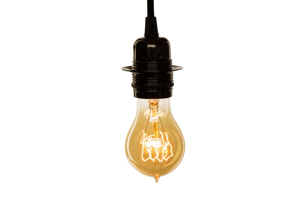 Vintage Pear Light Bulb  by William and Watson