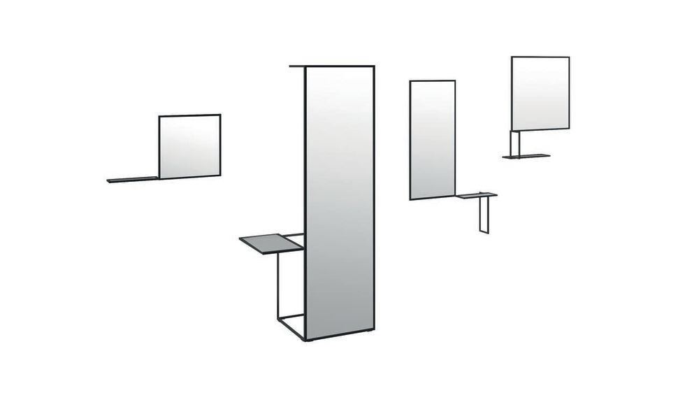 Waku Floor Mirror by Cappellini
