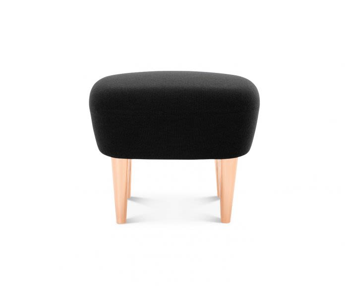 Wingback Short Ottoman by Tom Dixon
