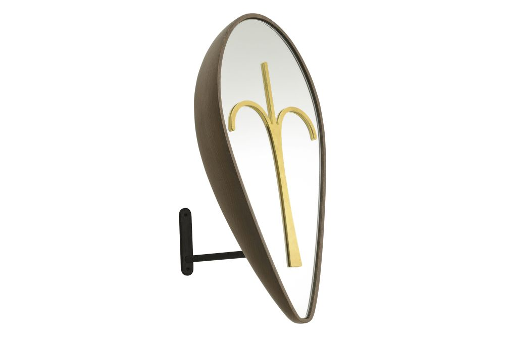 Wise Men Eliptical Mask Mirror by Colé Italian Design Label