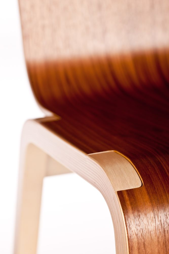 Zipper Stacking Chair by RIGA CHAIR